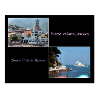 two shots from Puerto Vallarta postcard