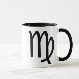 Two Sided Horoscope Sign Virgo Coffee Mug