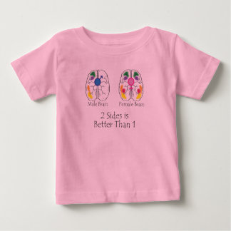 Two Sides for Children Baby T-Shirt