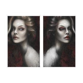 Two sides - Gemini Canvas Print