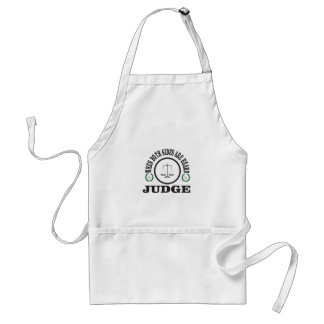 two sides then judge standard apron