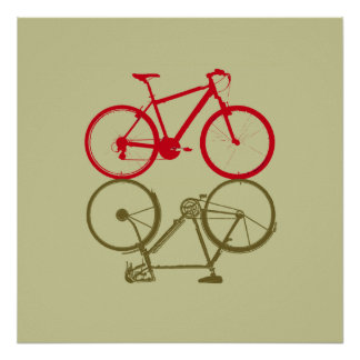 two simple bikes poster