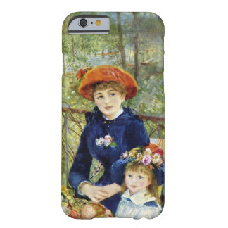 Two Sisters By Renoir, Vintage Impressionism Art Barely There iPhone 6 Case