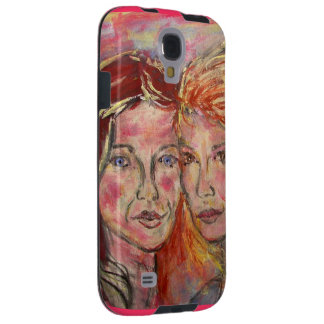 two sisters galaxy s4 case