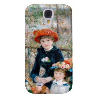 Two Sisters on Terrace by Renoir. Fine art print. Galaxy S4 Cases