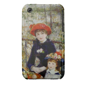 Two Sisters, or On The Terrace, 1881 iPhone 3 Case