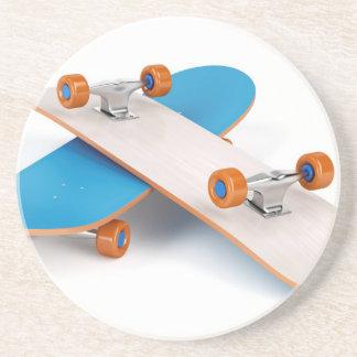 Two skateboards coaster