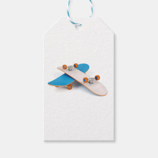 Two skateboards pack of gift tags