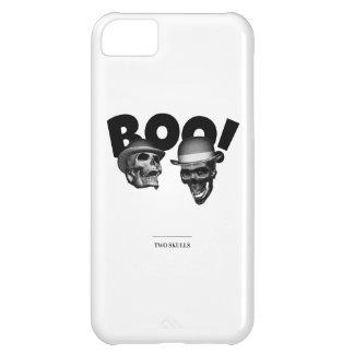 Two Skulls Boo! Case-Mate iPhone Case