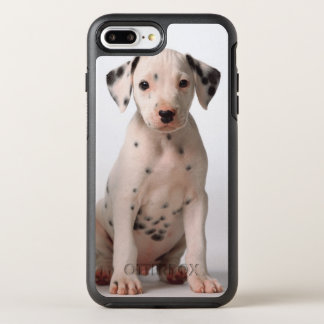 Two Small Black And White Dalmatian Puppies OtterBox Symmetry iPhone 7 Plus Case