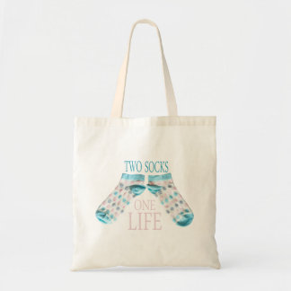Two socks tote bag