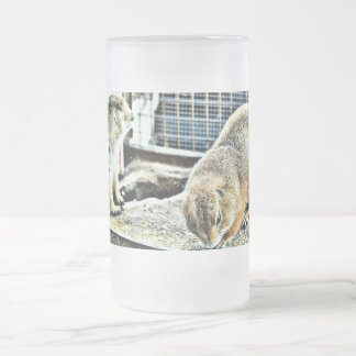 Two Sonoran Gophers Frosted Mug