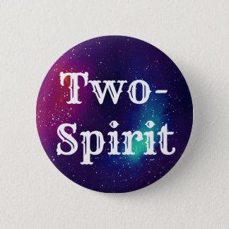 Two-Spirit Customizable Galaxy Identity 2 Inch Round Button