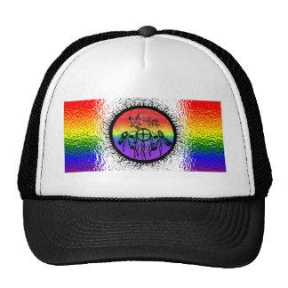 Two Spirit Flag Glass Design Trucker Hat