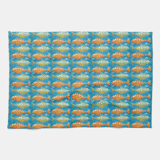 Two Spotty Fish Kitchen Towels