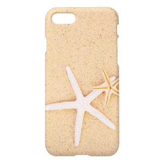 Two Starfish on a Smooth Beach iPhone 8/7 Case