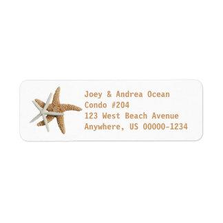 Two Starfish Sea Life Custom