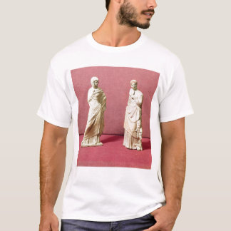 Two statues of standing women from Tanagra T-Shirt
