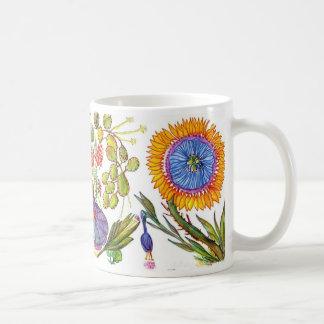 TWO SUNNY FLOWERS 2 COFFEE MUG