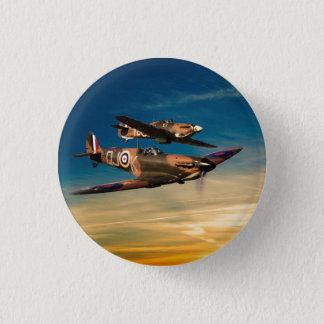 Two Supermarines 1 Inch Round Button