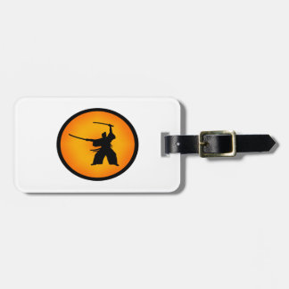 Two Swords Luggage Tag