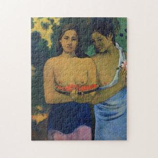 'Two Tahitian Women' - Paul Gauguin Jigsaw Puzzle
