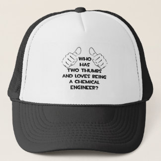 Two Thumbs...Chemical Engineer Trucker Hat