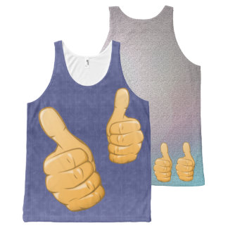 TWO THUMBS UP All-Over-Print TANK TOP