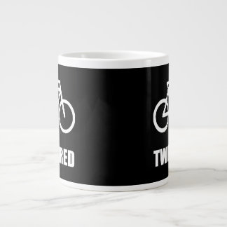 Two Tired Bike Large Coffee Mug