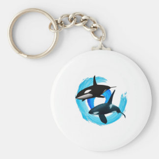 TWO TO CRUISE BASIC ROUND BUTTON KEYCHAIN