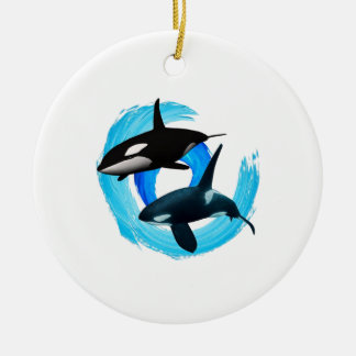 TWO TO CRUISE CERAMIC ORNAMENT
