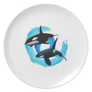 TWO TO CRUISE DINNER PLATE
