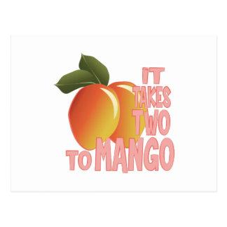 Two To Mango Postcard