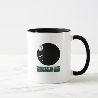 Two-Tone Billard Mug