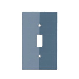 Two Tone - Blue Light Switch Cover