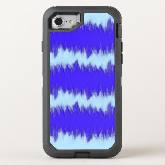 Two Tone Blue Pulse OtterBox Defender iPhone 7 Case