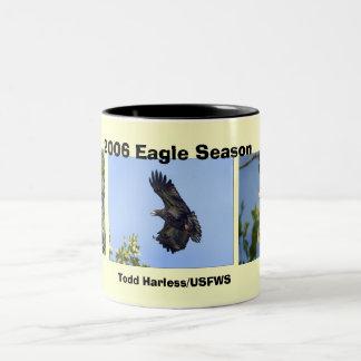 Two tone Eagle Season Mug