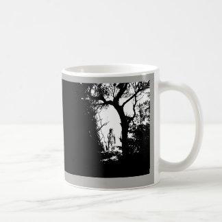 Two Tone Werewolf in Forest Mug