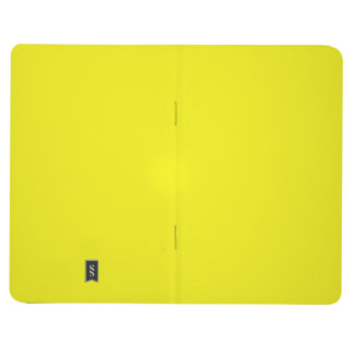 Two-Toned Bright Yellow & White Pocket Journal