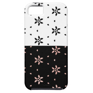 Two Toned Multi-Flower Pattern iPhone 5 Cover