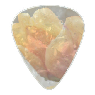 Two-Toned Tulips Guitar Pick