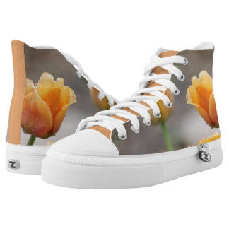 Two-Toned Tulips High Tops