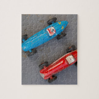 Two toy vintage cars jigsaw puzzle