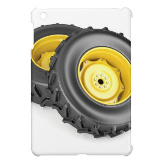 Two tractor wheels case for the iPad mini