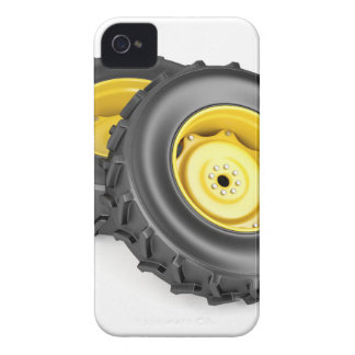 Two tractor wheels Case-Mate iPhone 4 case
