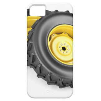 Two tractor wheels iPhone 5 covers