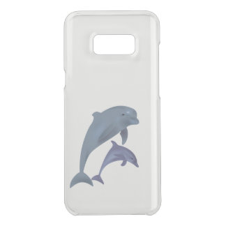 Two Tropical dolphins jumping beside each other Uncommon Samsung Galaxy S8 Plus Case