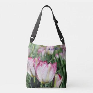 Two Tulips Crossbody Bag