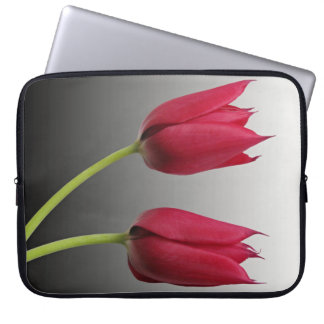 two tulips laptop sleeve