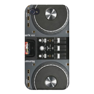 Two Turntables iPhone 4 Cases